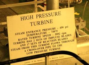 High Pressure Turbine Statistics